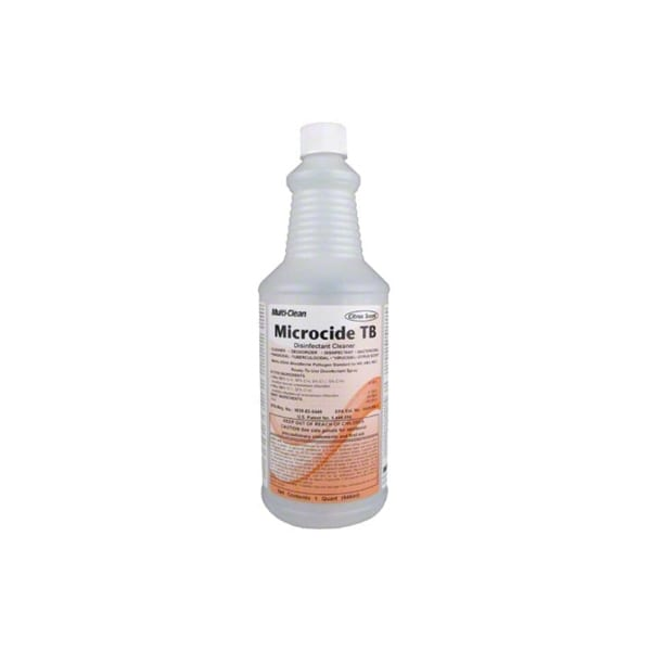 Microcide TB Disinfectant Cleaner | 1 Quart, Ready to Use Solution | Fikes