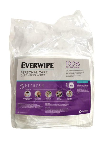 Everwipes Personal Care Cleansing Wipes | Disinfecting Wet Wipes | Fikes