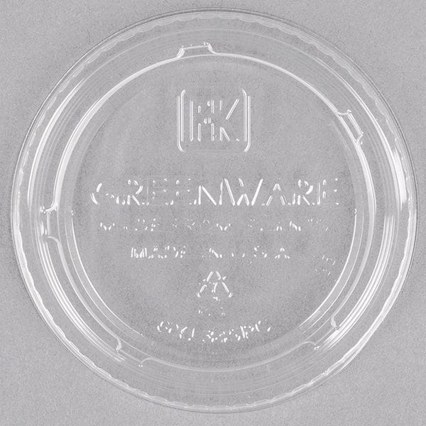 Greenware Portion Cups Lids